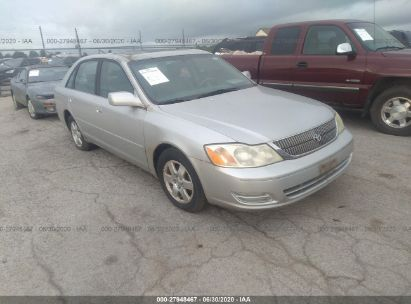 2002 TOYOTA AVALON XL/XLS