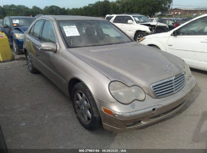 2004 MERCEDES-BENZ C 240 4MATIC