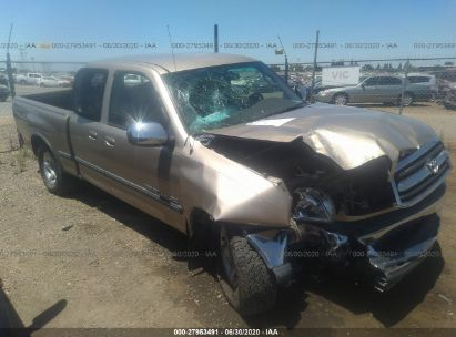 2002 TOYOTA TUNDRA ACCESS CAB/ACCESS CAB SR5