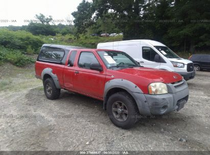 2001 NISSAN FRONTIER KING CAB XE/KING CAB SE