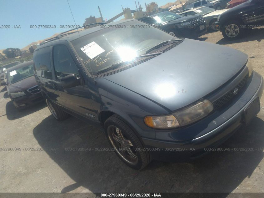 1997 nissan quest xe gxe for auction iaa iaa