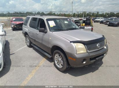 2004 MERCURY MOUNTAINEER CONVENIENCE/LUXURY