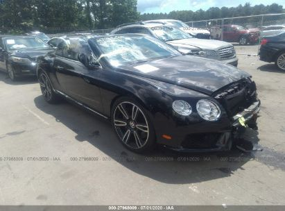 2014 BENTLEY CONTINENTAL GT V8 GTC V8
