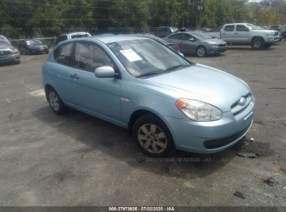 2010 HYUNDAI ACCENT BLUE/GS