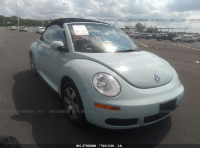 2006 VOLKSWAGEN NEW BEETLE CONVERTIBLE OPTION PKG 1