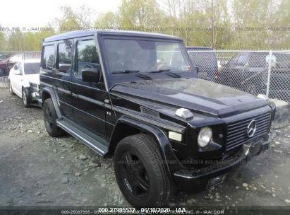 2002 MERCEDES-BENZ G 500