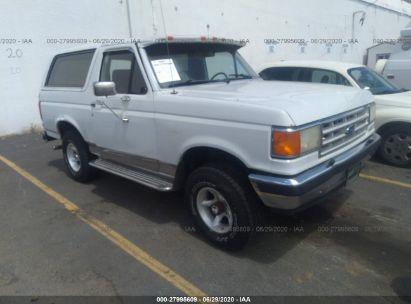 1987 FORD BRONCO U100