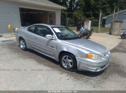 2001 PONTIAC GRAND AM GT