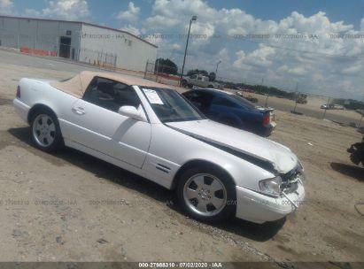 2000 MERCEDES-BENZ SL 500
