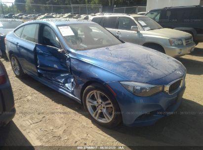 2015 BMW 3 SERIES GRAN TURISMO XIGT/SULEV