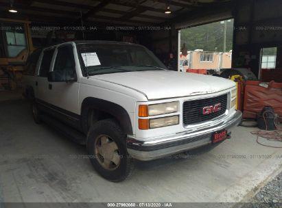 1999 GMC SUBURBAN K1500