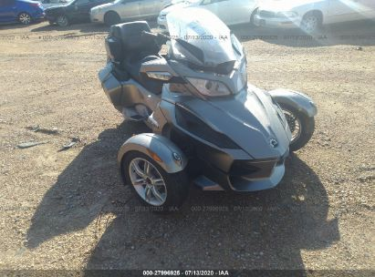 2012 CAN-AM SPYDER ROADSTER RTS