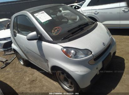 2012 SMART FORTWO PURE/PASSION
