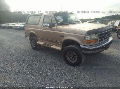 1996 FORD BRONCO U100