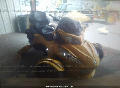 2013 CAN-AM SPYDER ROADSTER RT/RTS/RT LIMITED