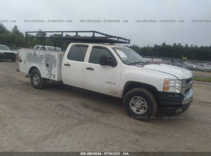 2010 CHEVROLET SILVERADO K2500 HEAVY DUTY