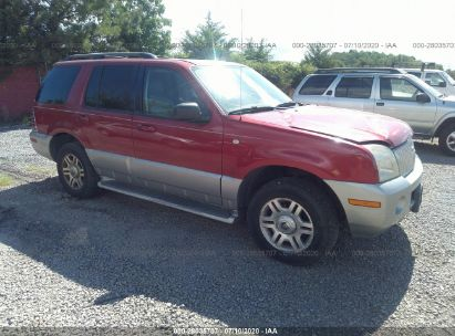 2003 MERCURY MOUNTAINEER CONVENIENCE/LUXURY