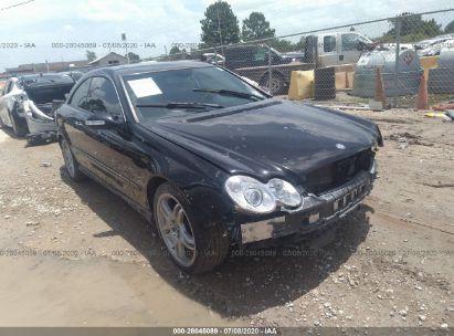 2008 MERCEDES-BENZ CLK 550