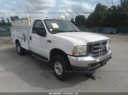 2004 FORD SUPER DUTY F-350 SRW XL/XLT