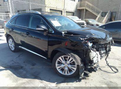 2010 LEXUS RX 450H 450