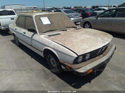 1985 BMW 528 E