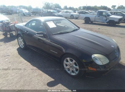 2001 MERCEDES-BENZ SLK 230 KOMPRESSOR