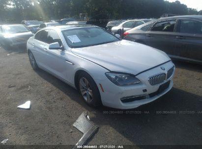 2013 BMW 6 SERIES XI
