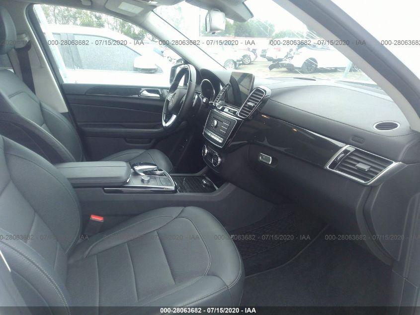 2018 Mercedes-Benz GLS   Vin: 4JGDF7DE8JB025194
