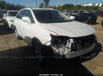 2012 LEXUS RX 450H 450