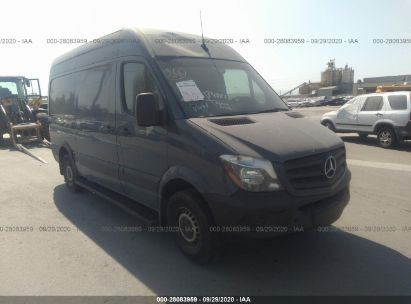2018 MERCEDES-BENZ SPRINTER CARGO VAN WORKER