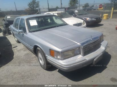 1993 LINCOLN TOWN CAR CARTIER