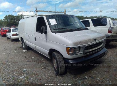 2000 FORD ECONOLINE CARGO VAN E150 VAN
