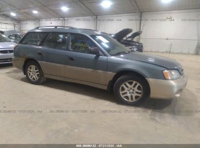 2002 SUBARU LEGACY WAGON OUTBACK W/ALL WEATHER PKG