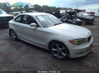 2008 BMW 1 SERIES I