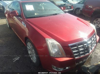 2012 CADILLAC CTS COUPE PERFORMANCE COLLECTION