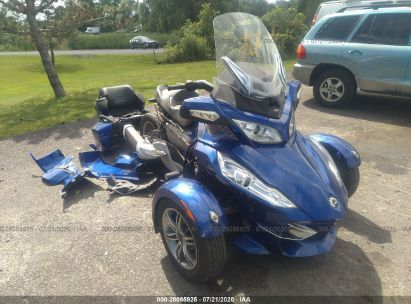 2012 CAN-AM SPYDER ROADSTER RT