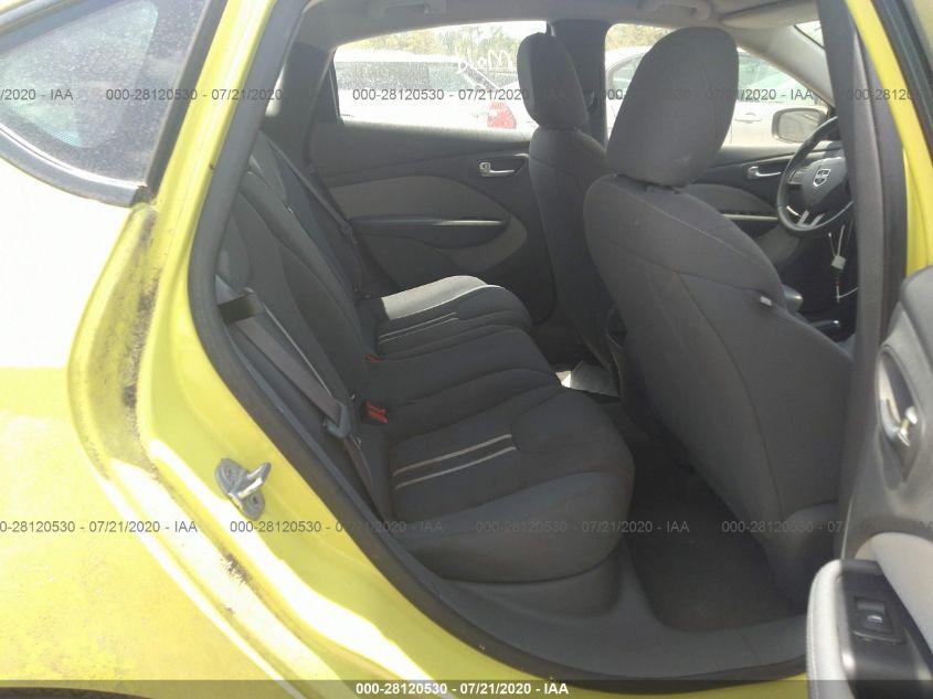 2013 Dodge DART   Vin: 1C3CDFBA5DD107784