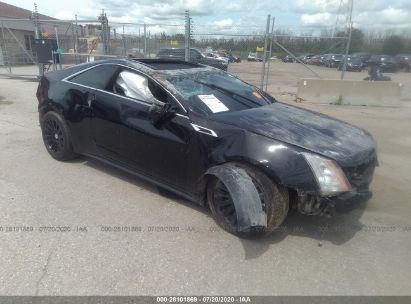 2011 CADILLAC CTS COUPE PREMIUM COLLECTION