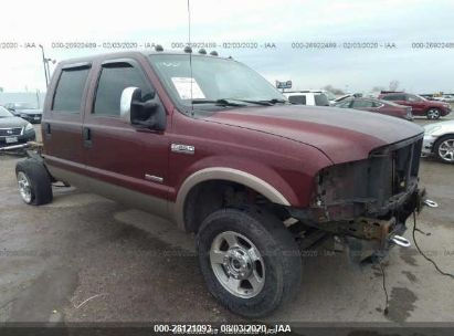 2006 FORD SUPER DUTY F-350 SRW XL/XLT/LARIAT