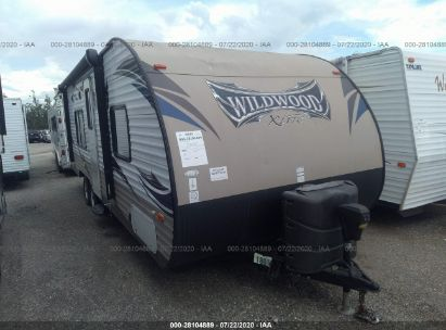 2015 FOREST RIVER WILDWOOD WDT261BHXL