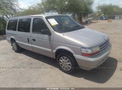 1995 PLYMOUTH GRAND VOYAGER SE