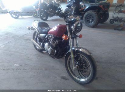 1982 YAMAHA XJ650