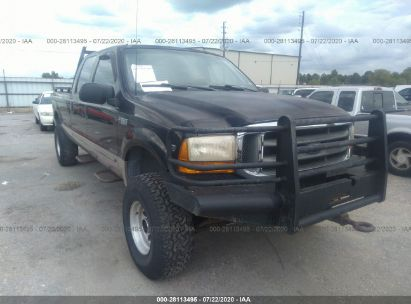 1999 FORD SUPER DUTY F-350 SRW SRW SUPER DUTY