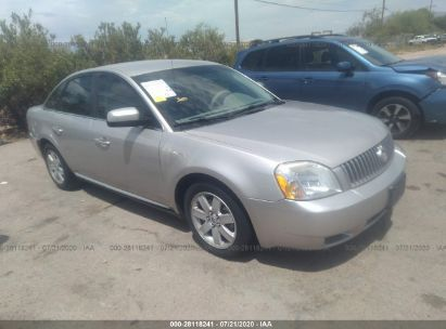 2007 MERCURY MONTEGO LUXURY