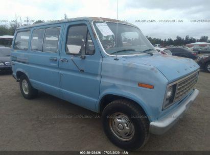 1981 FORD ECONOLINE E100