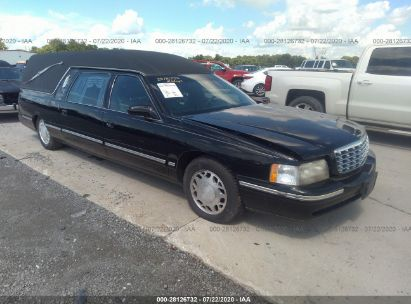 1999 CADILLAC DEVILLE PROFESSIONAL FUNERAL COACH