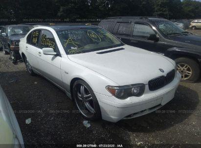 2002 BMW 7 SERIES I