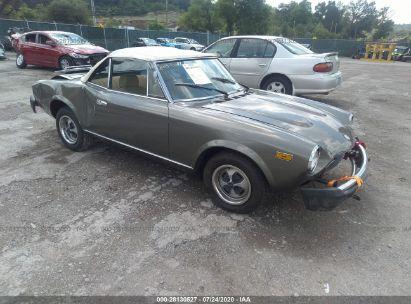 1979 FIAT SPIDER 124