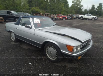 1984 MERCEDES-BENZ 500 SERIES