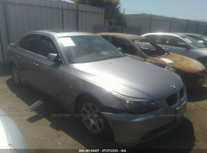 2004 BMW 5 SERIES/5-SERIES 525I